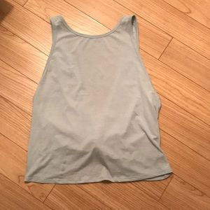 Lululemon backless tank